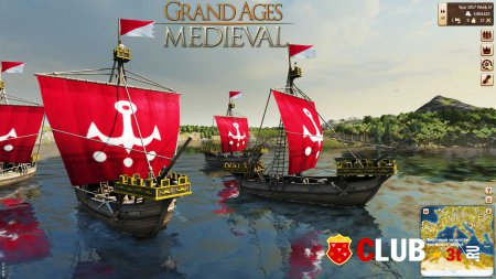 Grand Ages Medieval Trainer version 1.02 + 7