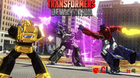 Transformers Devastation Трейнер version 1.0 + 9