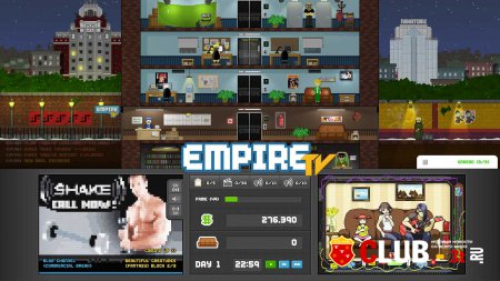 Empire TV Tycoon Trainer version 1.0 + 1