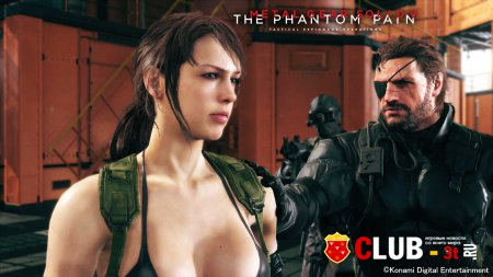 Metal Gear Solid V The Phantom Pain Trainer version 1.07 + 22