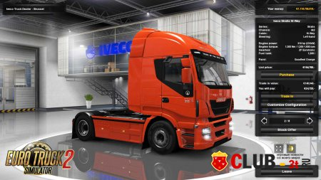 Euro Truck Simulator 2 Trainer version 1.22.2.3s 64bit + 6
