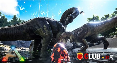ARK Survival Evolved Трейнер version Early Access 27.12.2015 + 23