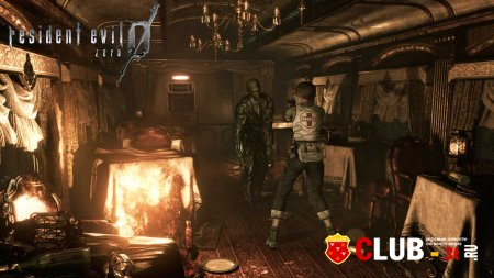 Resident Evil Zero Trainer version 1.0 + 7