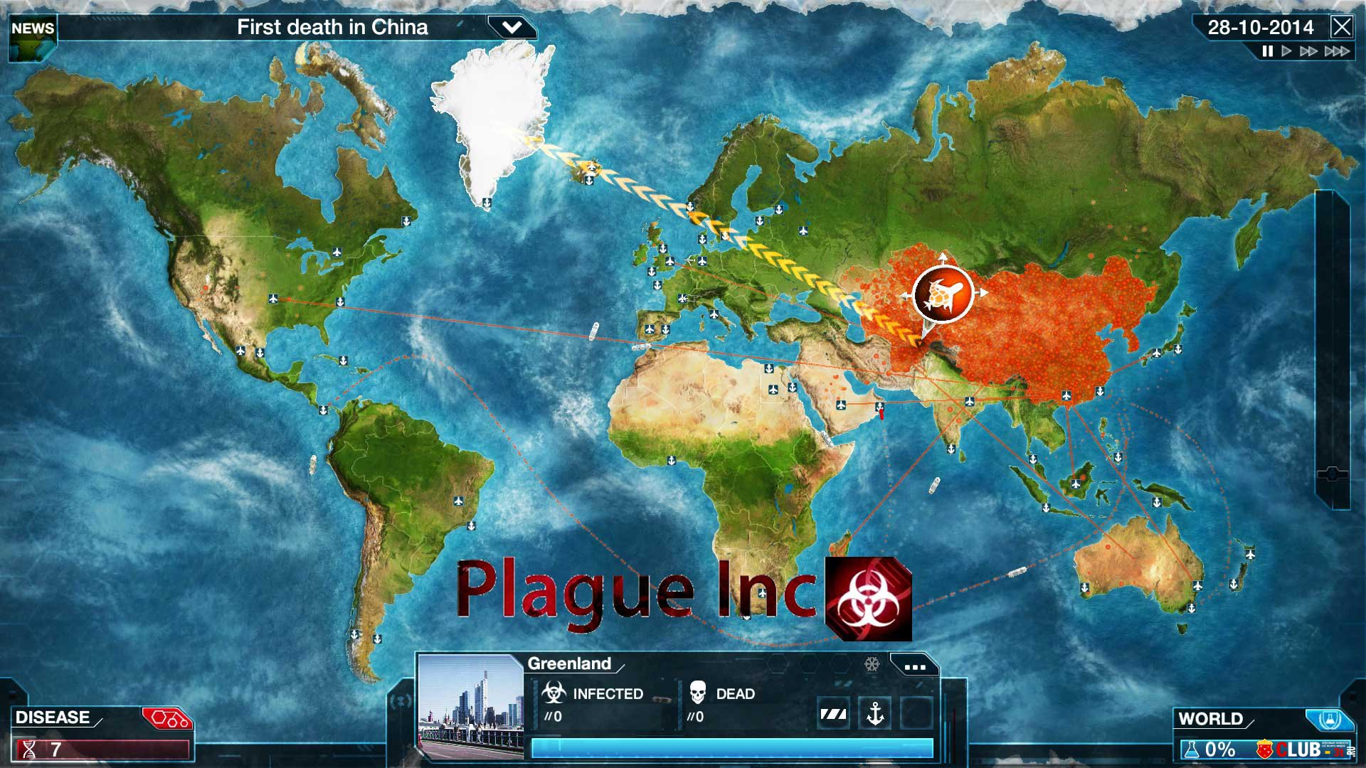 Коды для plague inc evolved - ade35