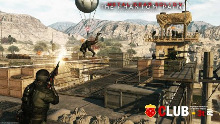 Metal Gear Solid V The Phantom Pain Trainer version 1.08 + 14