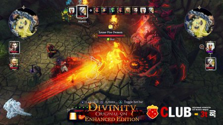 Divinity Original Sin Enhanced Edition Trainer version 2.0.119.430 + 18