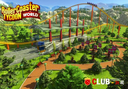 RollerCoaster Tycoon World Trainer version 06042016 + 1
