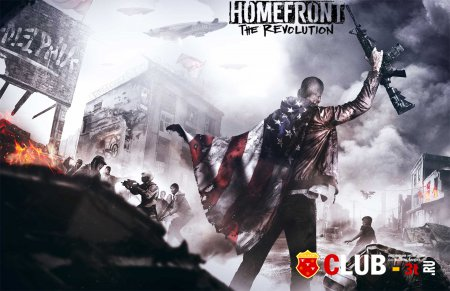 Homefront The Revolution Трейнер version 1.01 + 8
