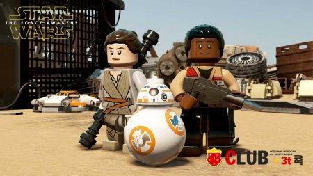 LEGO STAR WARS The Force Awakens Трейнер version 1.0 + 2
