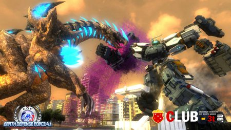 Earth Defense Force 4.1 The Shadow of New Despair Трейнер version 1.0 + 3