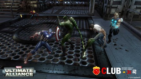 Marvel Ultimate Alliance Trainer version 1.0 + 2