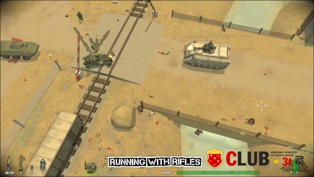 Running With Rifles Trainer version 1.32 + 5