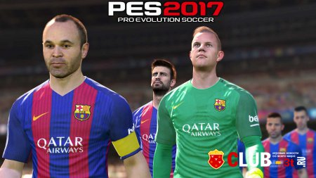 Pro Evolution Soccer 2017 Trainer version 1.01 + 7