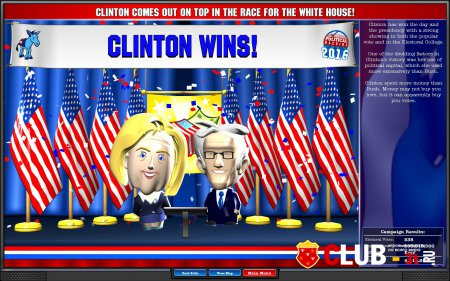 The Political Machine 2016 Trainer version 1.3 + 2