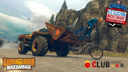 Carmageddon: Max Damage Trainer version 1.0.0.9853 + 3