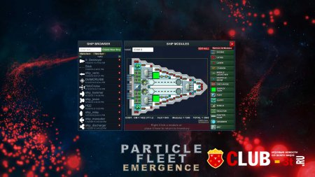Particle Fleet: Emergence Trainer version 1.02 + 4