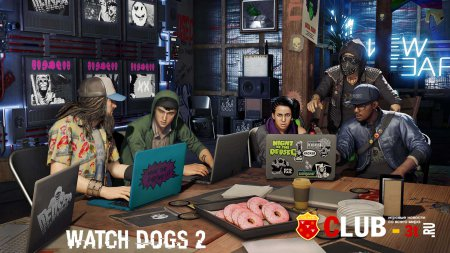 Watch Dogs 2 Trainer version 1.6 64bit + 11