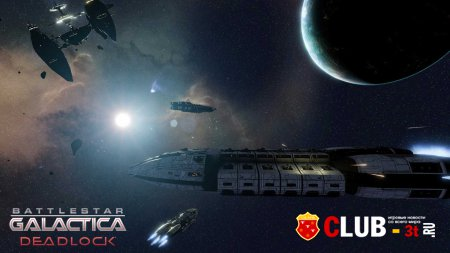 Battlestar Galactica Deadlock Trainer version 05.09.2017 + 4